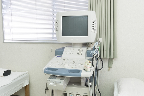 エコー(1台):心臓・腹部・頚動脈・甲状腺